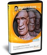 Exaggerated Facial Expressions in ZBrush and Maya